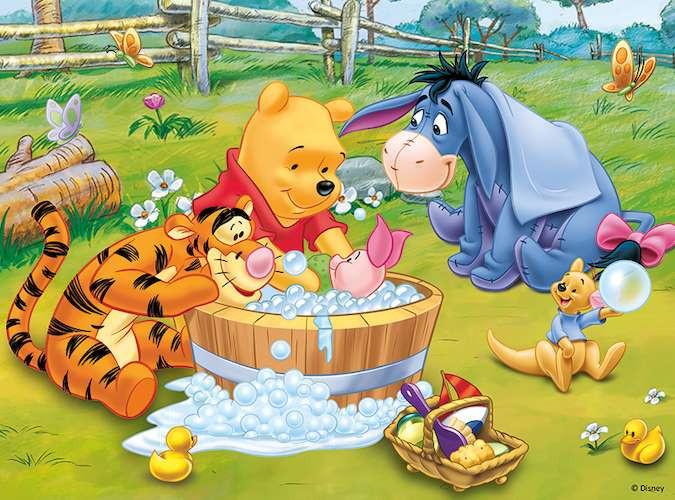 Пазл Пятачок принимает ванну, Винни-Пух, 30 эл.