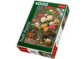 Пазл Цветы для Королевы Елизаветы, 4000 эл.