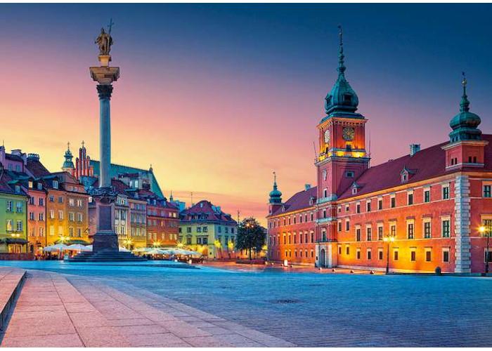 Пазл Замковая площадь, Варшава, 500 эл.