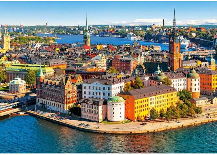 Пазл Стокгольм, Швеция, 500 эл.
