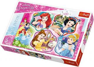 Пазл Очаровательная принцесса, Принцессы, 100 эл.