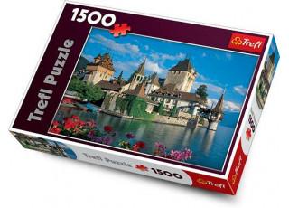 Пазл Замок Оберхофен, Швейцария, 1500 эл.
