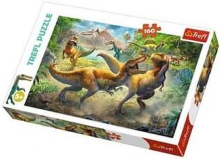 Пазл Поединок тиранозавров, 160 эл.