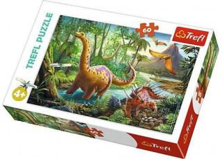 Пазл Миграция динозавров, 60 эл.