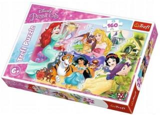 Пазл Принцессы и друзья, Принцессы, 160 эл.