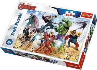 Пазл Готовы спасти мир, Мстители, 160 эл.