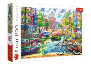 Пазл Амстердамский канал, 1500 эл.