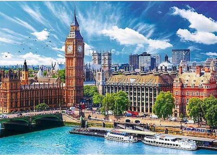 Пазл Солнечный Лондон, 500 эл.
