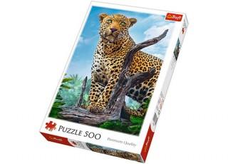 Пазл Дикий леопард, 500 эл.