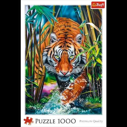 Пазл Дикий тигр, 1000 эл.