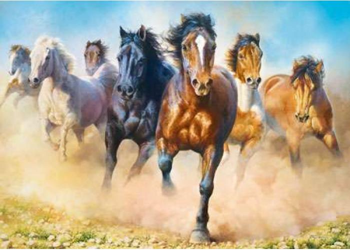 Пазл Стадо коней, 2000 эл.