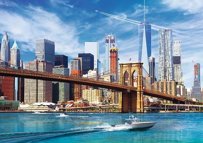 Пазл Вид на Нью-Йорк, США, 500 эл.