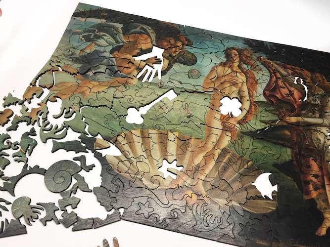 Пазл деревянный авторский Рождение Венеры, 294 эл.