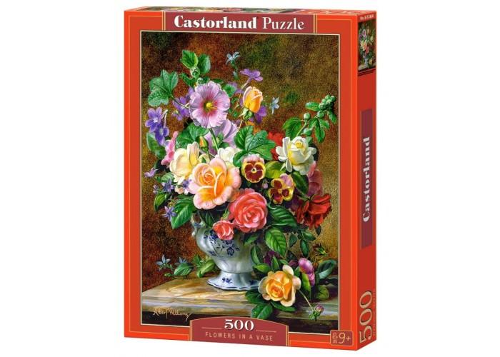 Пазл Цветы в вазе, 500 эл.