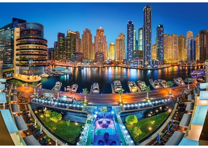 Пазл Район Марина, Дубай, 1000 эл.