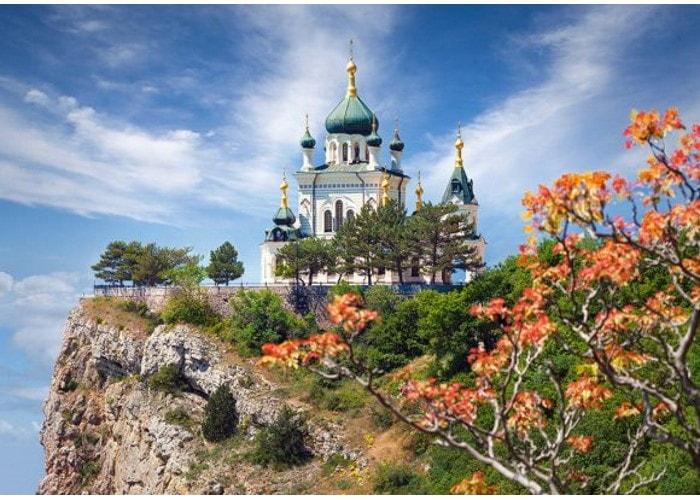Пазл Храм в Форосе, Крым, 500 эл.