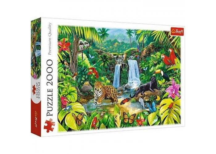 Пазл Тропический лес, 2000 эл.