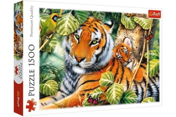 Пазл Два тигра, 1500 эл.
