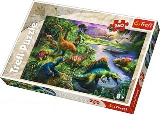 Пазл Динозавры, 260 эл.