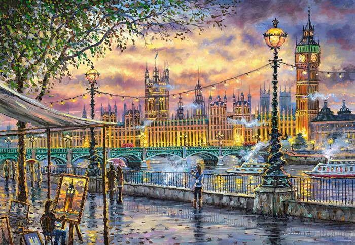 Пазл Вдохновение Лондоном, 1000 эл.