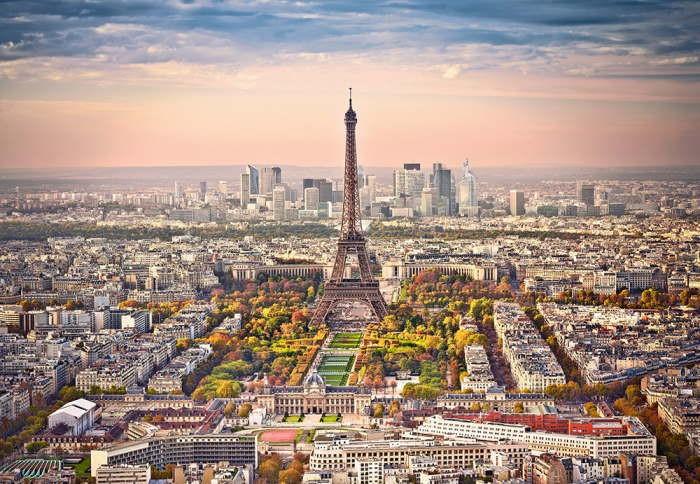 Пазл Городской пейзаж Парижа, 1500 эл.