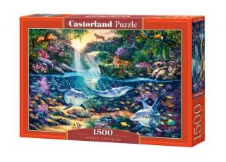 Пазл Рай в джунглях, 1500 эл.