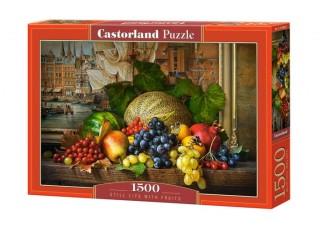 Пазл Натюрморт с фруктами, 1500 эл.