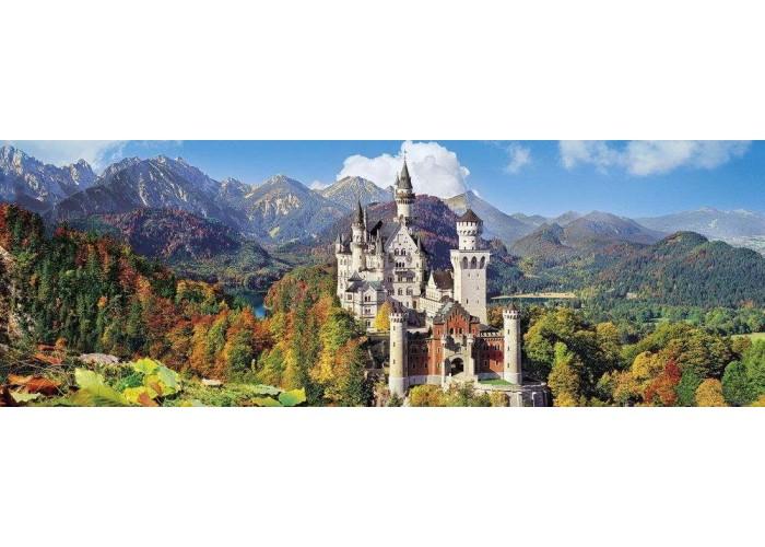 Пазл Замок Нойшванштайн осенью, Германия, 1000 эл. (панорама)