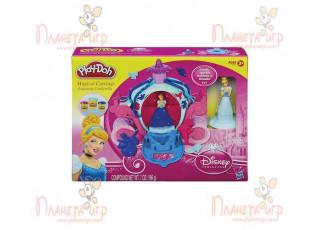 Набор для лепки Play-Doh Disney. Волшебная карета Золушки