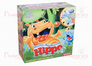 Голодные бегемотики (Marble-Swallowing Hippo)