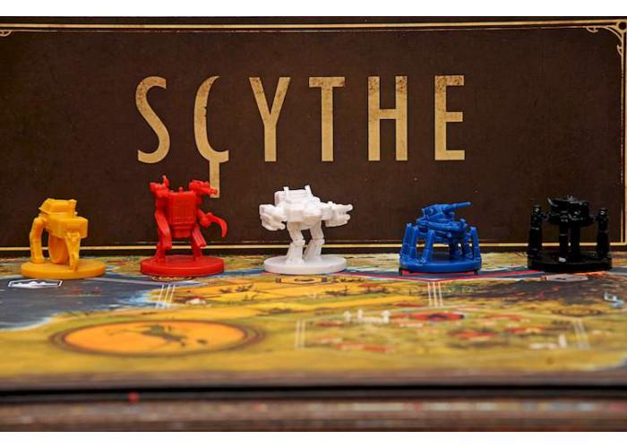 Серп (Scythe) + уникальное промо!