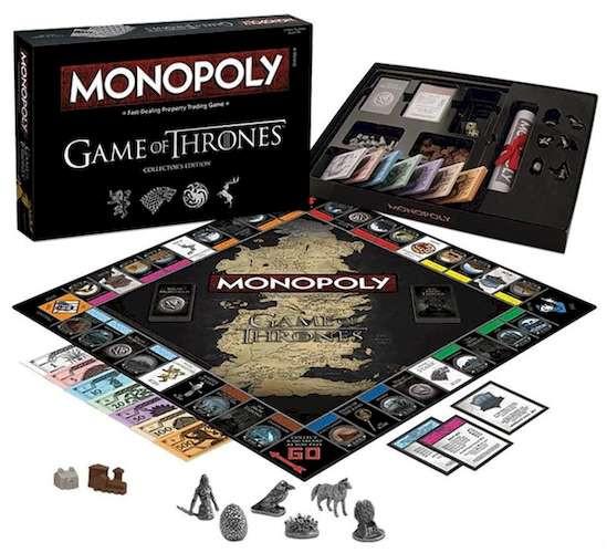 Монополия Игра Престолов (коллекционное издание) (Monopoly Game of Thrones Collector's Edition)