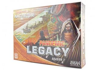 Пандемия: Наследие. Сезон 2 (желтая) (Pandemic Legacy: Season 2, yellow)