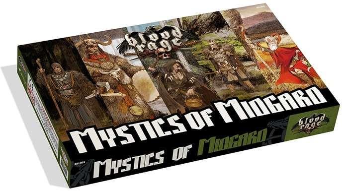 Кровь и Ярость: Колдуны Мидгарда (Blood Rage: Mystics of Midgard)