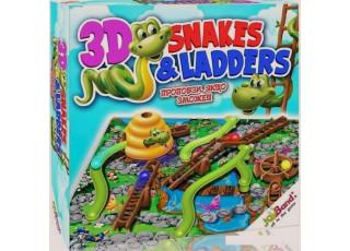 Змейки и лестницы 3D (Snakes & Ladders 3D)