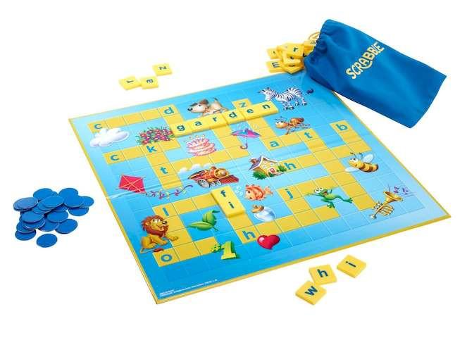 Скрабл Юниор (Scrabble Junior) (англ.)
