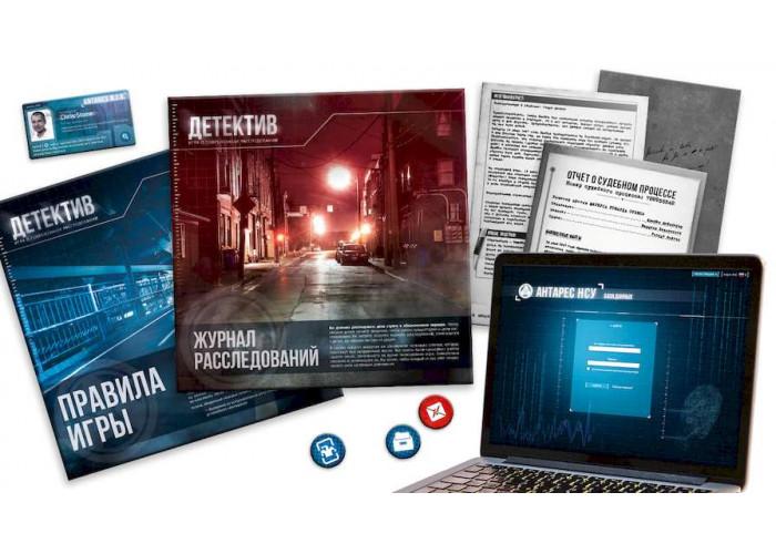 Детектив: Игра о Современном Расследовании (Detective: A Modern Crime Board Game) + уникальное промо!