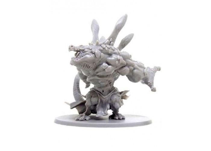 Кромешная тьма: Рептизавры. Набор врагов (Massive Darkness: Enemy Box – Reptisaurians)
