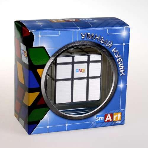 Умный Кубик 3х3 Зеркальный серебрянный (Smart Cube 3x3 Mirror Silver)
