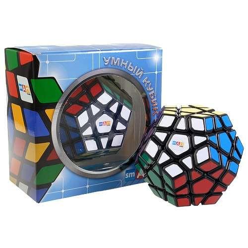 Умный Кубик Мегаминкс черный (Smart Cube Megaminx Black)
