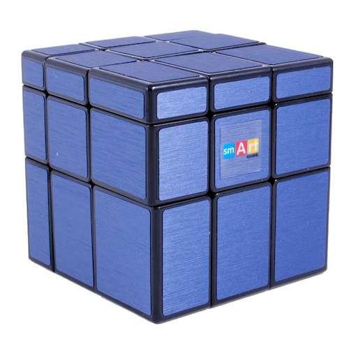 Умный Кубик 3х3 Зеркальный голубой (Smart Cube 3x3 Mirror Blue)
