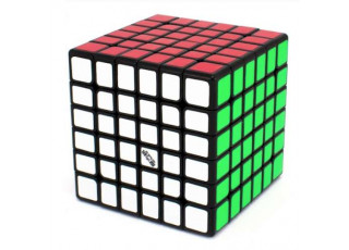 Кубик QiYi 6х6 Черный (QiYi Wuhua 6x6 V2 Black)