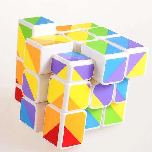 Умный Кубик 3х3 Радужный белый (Smart Cube Rainbow White)