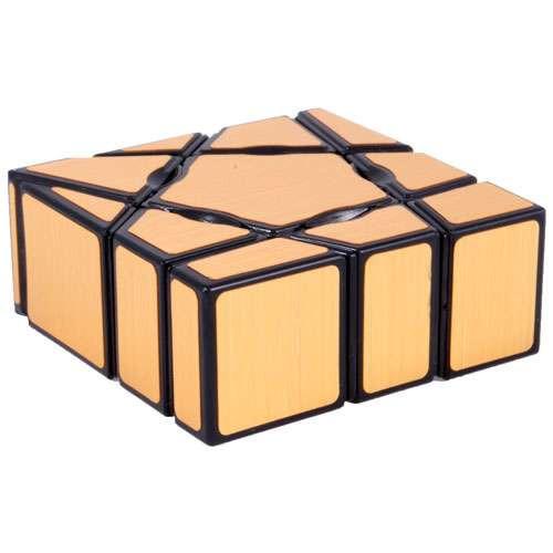 Кубик Ю-Джи Призрачный золотой (YJ Ghost Cube Gold)