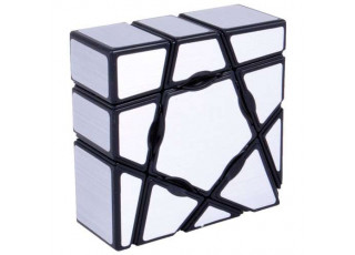 Кубик Ю-Джи Призрачный серебрянный (YJ Ghost Cube Silver)