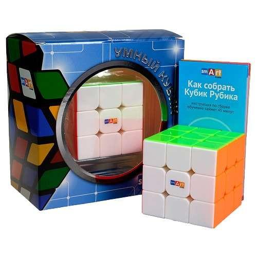 Умный Кубик 3х3 без наклеек (Smart Cube 3x3 Stickerless)