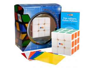 Умный Кубик 3х3 Фирменный Плюс белый (Smart Cube 3x3 White)