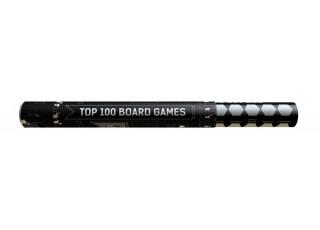 Скретч постер Топ 100 Настольных Игр (Scratch Poster Top 100 Board Games)