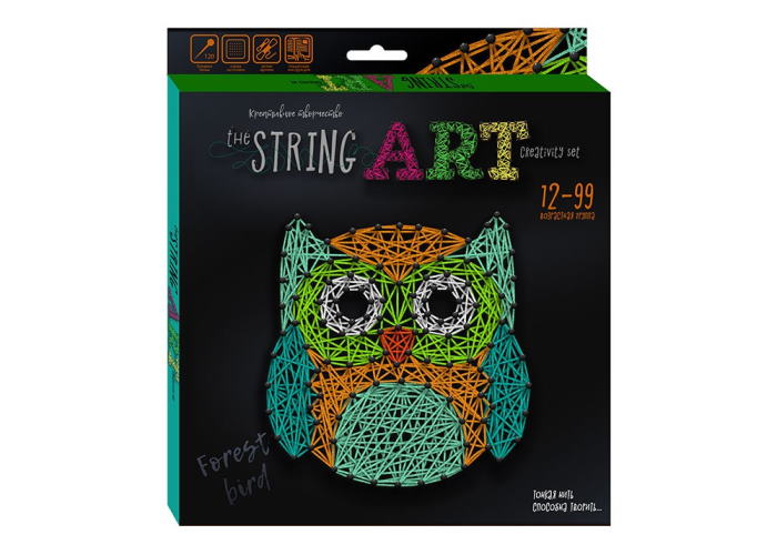 Набор для творчества The String Art Сова