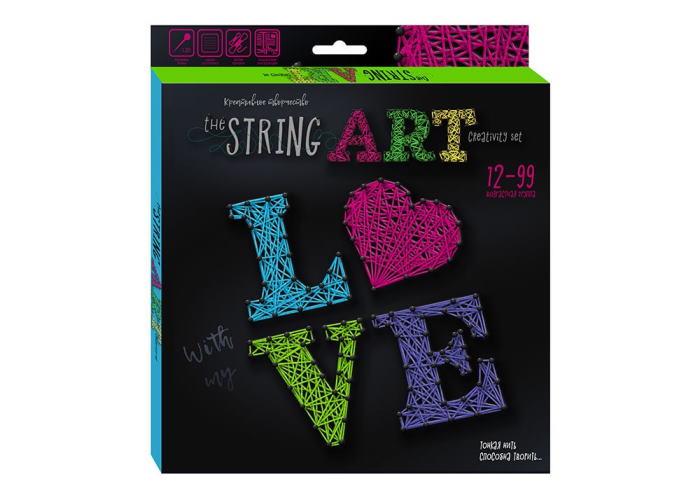 Набор для творчества The String Art Любовь
